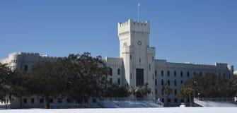 城堡,查尔斯顿,南卡罗来纳 免版税库存图片