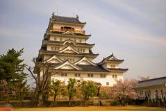 城堡,福山,日本 免版税库存照片