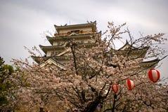 城堡,福山,日本 库存照片