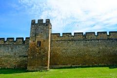 城堡,阿尔尼克,英国 免版税库存图片
