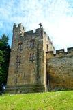 城堡,阿尔尼克,英国 免版税图库摄影