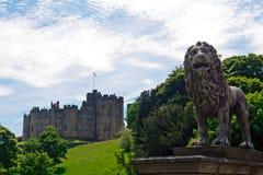 城堡,阿尔尼克,英国 免版税库存照片