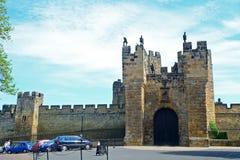 城堡,阿尔尼克,英国 库存照片