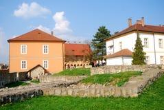 城堡, Eger,匈牙利 免版税库存图片