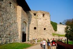 城堡, Eger,匈牙利 免版税库存照片
