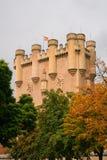 城堡, Segovia。 免版税库存照片