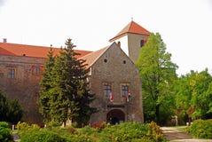 城堡, Varpalota,匈牙利 图库摄影