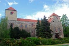 城堡, Varpalota,匈牙利 库存照片
