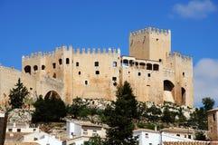 城堡, Velez布兰科,西班牙。 库存照片