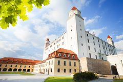 城堡围场在布拉索夫 免版税图库摄影