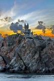 城堡`燕子` s巢` 库存照片