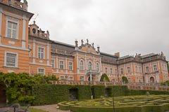 城堡建筑学秀丽  库存照片