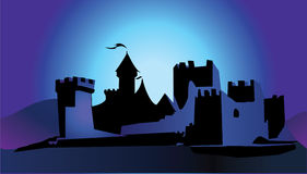 城堡 免版税库存图片