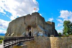 城堡- Cetatea 免版税库存照片