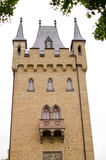 城堡` s塔Hohenzollern 图库摄影