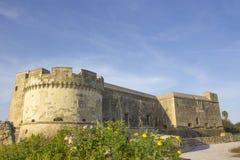 城堡Acaya,莱切, Salento,意大利 库存照片