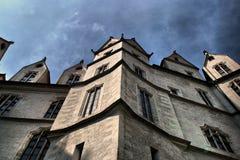 城堡Albrechtsburg在Meissen 免版税图库摄影