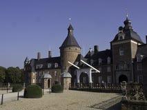 城堡Anholt 免版税库存照片