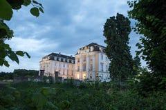 城堡augustusburg德国 库存照片