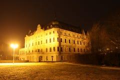 城堡Bartošovice -捷克共和国 库存照片
