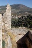 城堡Bechin米拉斯土耳其的废墟 库存照片