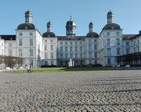 城堡Bensberg在秋天 免版税图库摄影