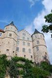 城堡bertholdsburg schleusingen 库存图片