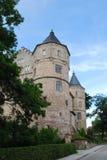 城堡bertholdsburg schleusingen 免版税库存照片
