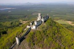城堡Bezdez 免版税库存图片
