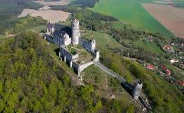 城堡Bezdez 库存图片