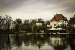 城堡Blutenburg 库存照片