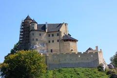 城堡Bobolice 免版税库存照片