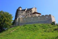 城堡Bobolice 库存图片