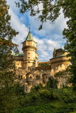 城堡Bojnice 免版税图库摄影