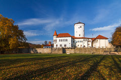 城堡Bojnice 免版税库存照片
