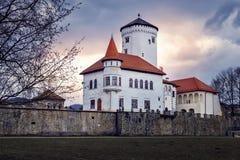 城堡Budatin -斯洛伐克 库存图片