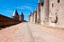 城堡Carcassonne 免版税库存图片