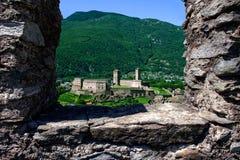 城堡castlegrande 图库摄影