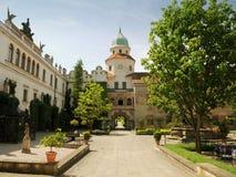 城堡castolovice捷克共和国 免版税图库摄影