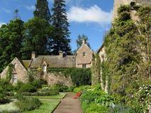 城堡cawdor庭院 免版税库存照片