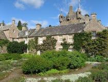 城堡cawdor庭院 免版税图库摄影