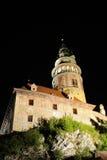城堡cesky krumlov 免版税库存照片