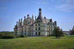 城堡chambord法国 欧洲 免版税库存图片