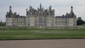城堡chambord法国 免版税库存照片