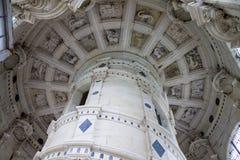 城堡chambord法国 库存图片