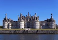 城堡chambord 免版税库存图片