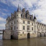 城堡chenonceau 库存照片