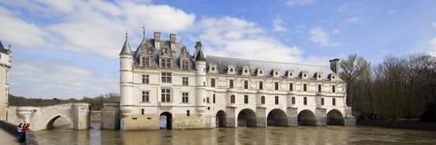 城堡chenonceau 免版税库存图片