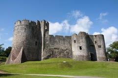 城堡chepstow废墟 免版税库存照片