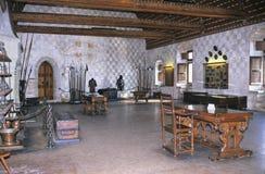 城堡chillon 免版税图库摄影